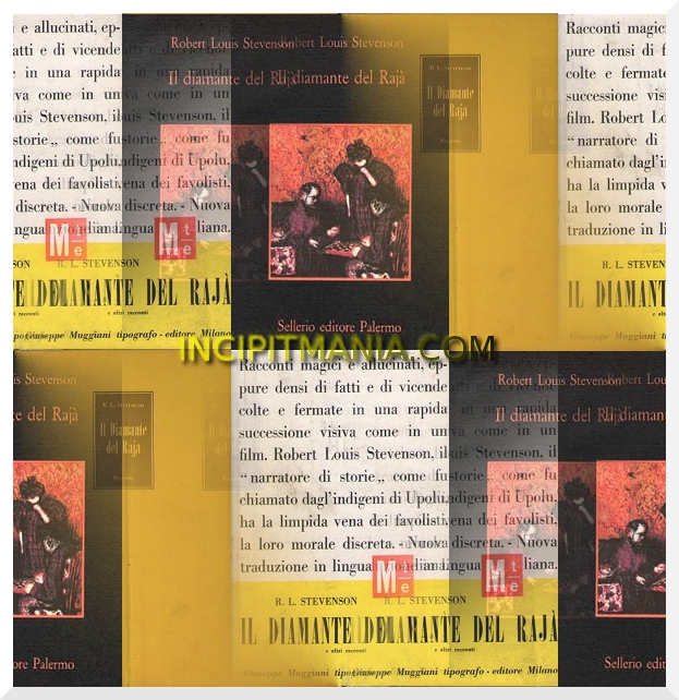 Copertine di Il diamante del Raja di Robert L. Stevenson