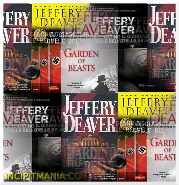 Copertine di Il giardino delle belve di Jeffery Deaver