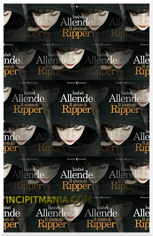 Copertina di Il gioco di Ripper di Isabel Allende