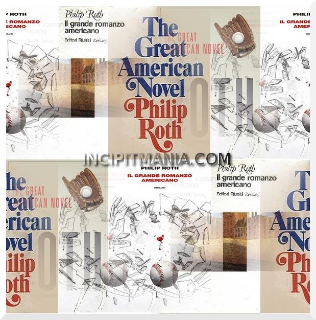 Copertine di Il grande romanzo americano di Philip Roth