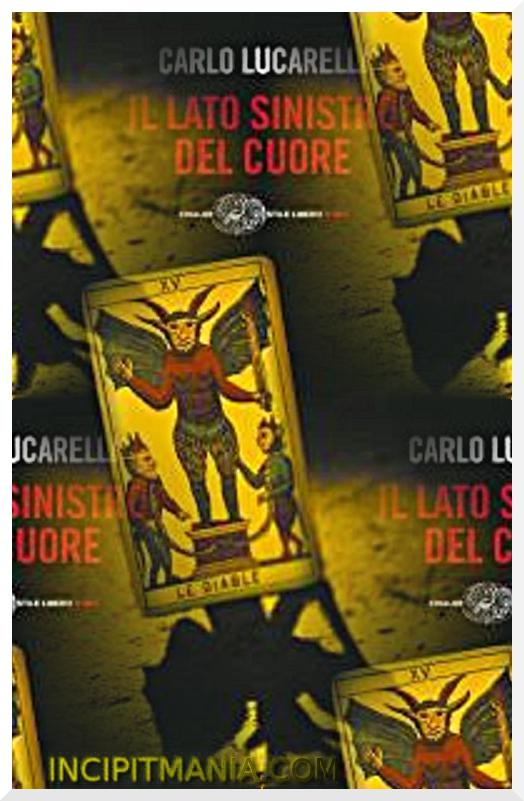 Copertina di Il lato sinistro del cuore di Carlo Lucarelli