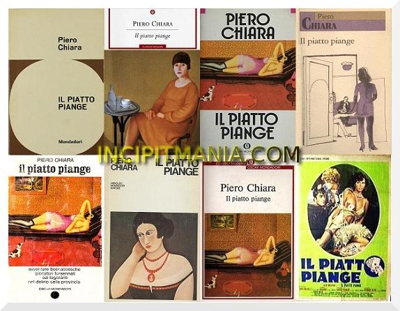 Copertine di Il piatto piange di Piero Chiara