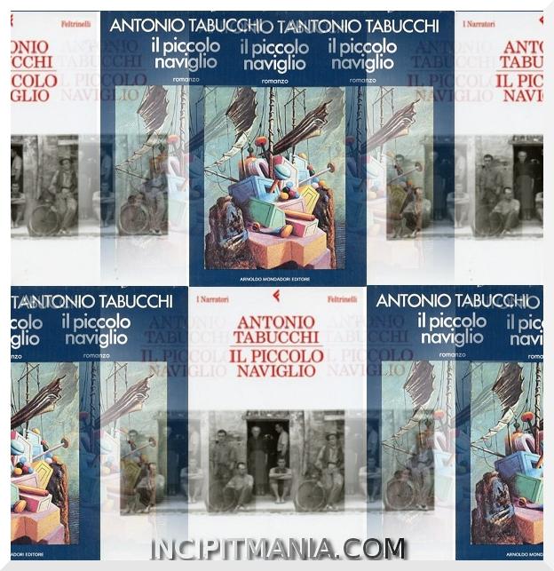 Il piccolo naviglio - Antonio Tabucchi