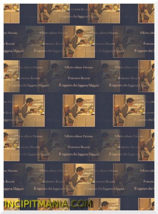 Copertina di Il ragazzo che leggeva Maigret di Francesco Recami