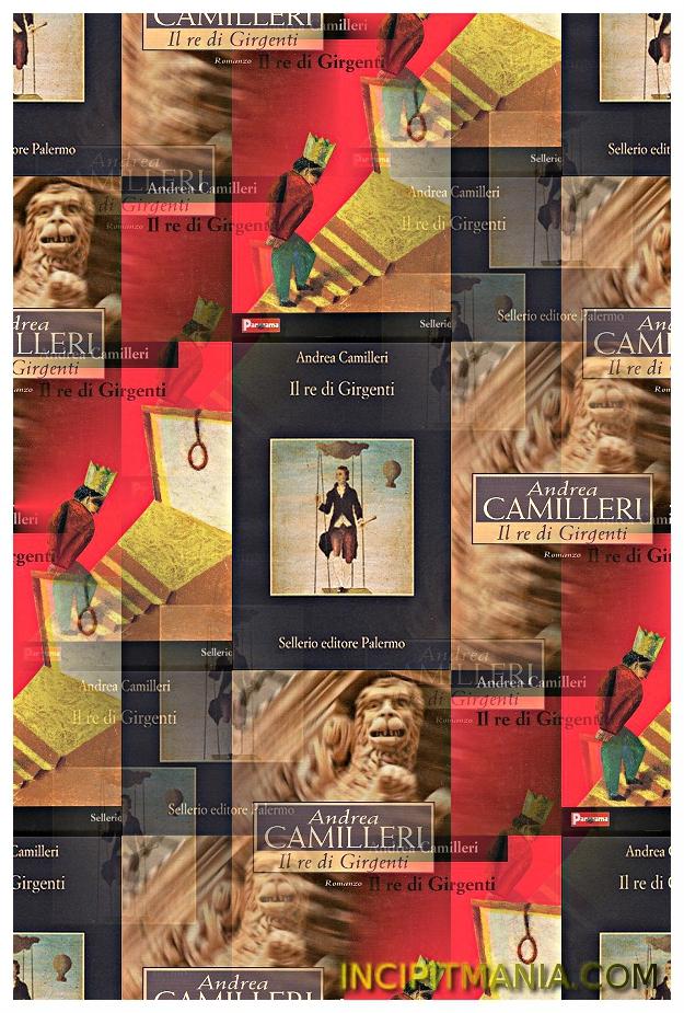 Copertine di Il re di Girgenti di Andrea Camilleri