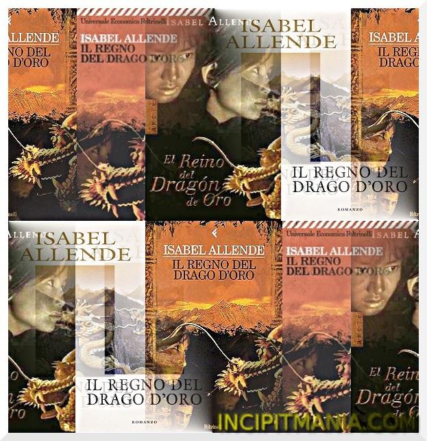 Copertine di Il regno del drago d'oro di Isabel Allende