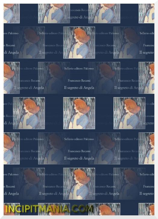 Copertina di Il segreto di Angela di Francesco Recami