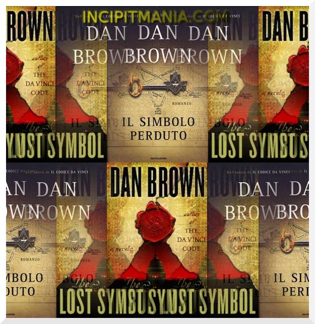 Copertine di Il simbolo perduto di Dan Brown