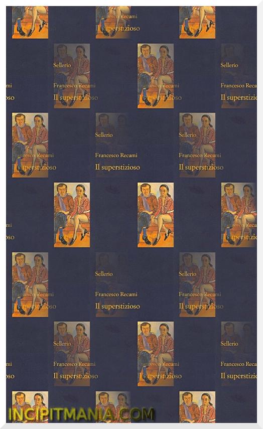 Copertina di Il superstizioso di Francesco Recami