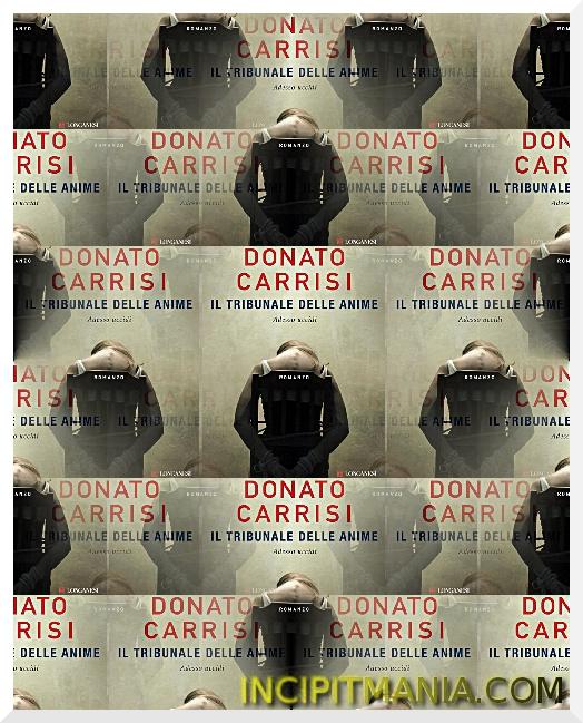 Il tribunale delle anime di Donato Carrisi