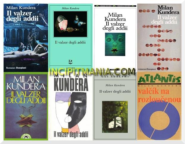 Copertine di Il valzer degli addii di Milan Kundera