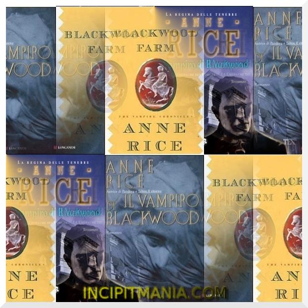 Copertine di Il vampiro di Blackwood di Anne Rice