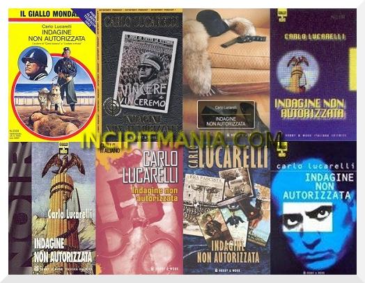 Copertine di Indagine non autorizzata di Carlo Lucarelli