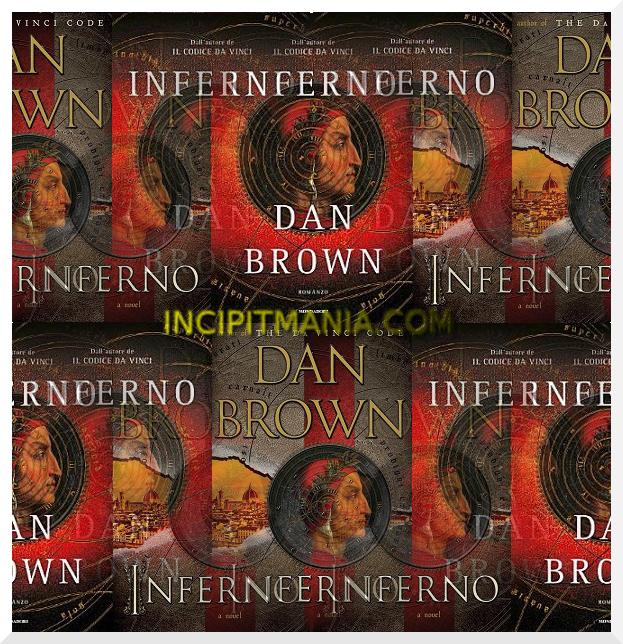Copertine di Inferno di Dan Brown