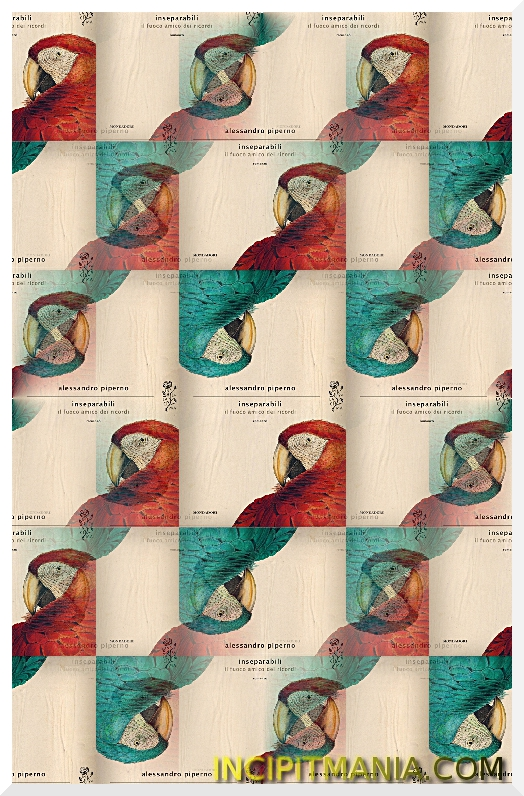 Copertine di Inseparabili di Alessandro Piperno