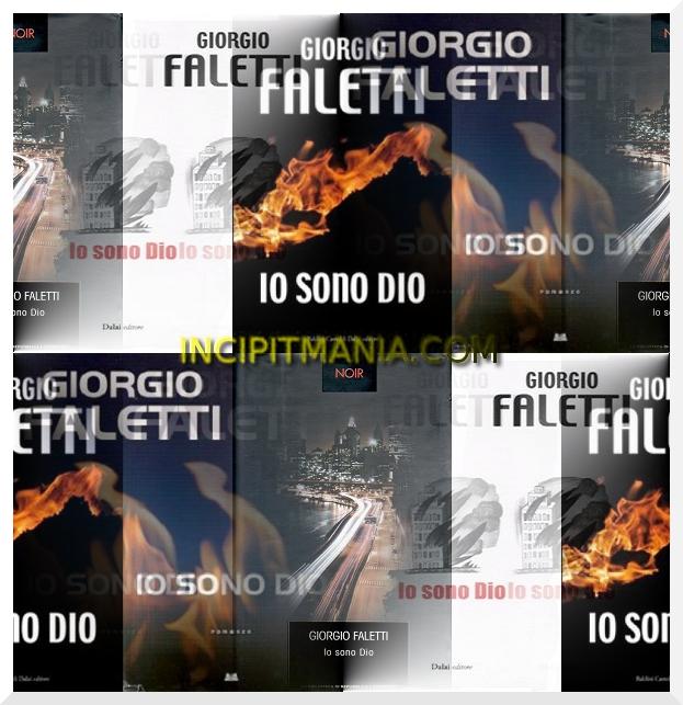 Copertine di Io sono Dio di Giorgio Faletti