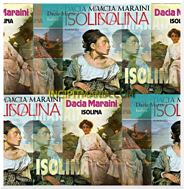 Copertine di Isolina di Dacia Maraini
