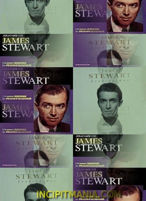 Copertine di James Stewart Un uomo qualunque in situazioni eccezionali di Jonathan Coe