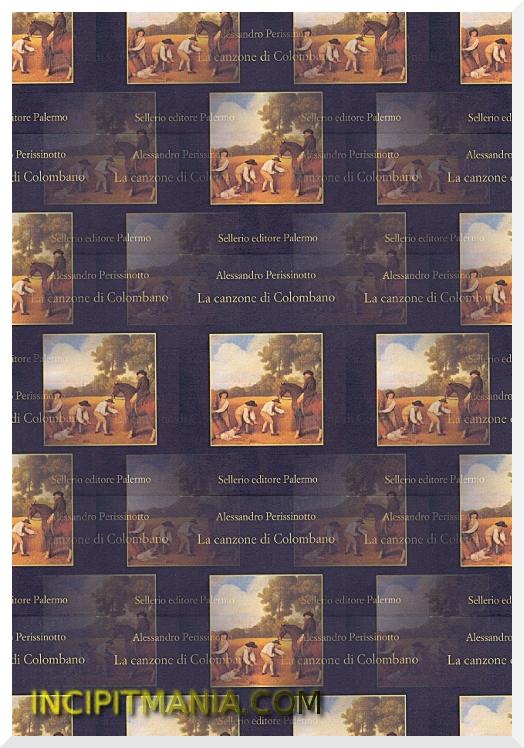 Copertina di La canzone di Colombano di Alessandro Perissinotto