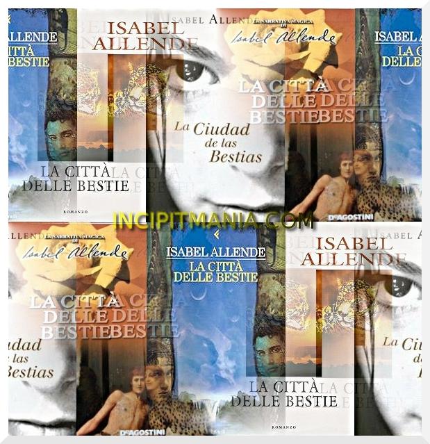 Copertine la La città delle bestie di Isabel Allende