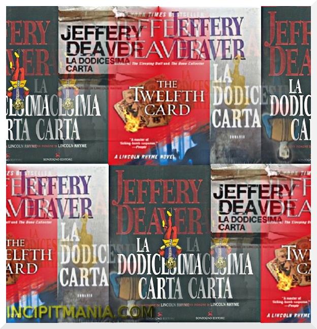 Copertine di La dodicesima carta di Jeffery Deaver
