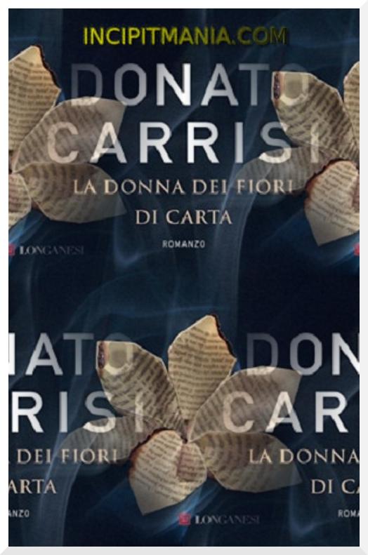 Copertine di La donna dei fiori di carta di Donato Carrisi