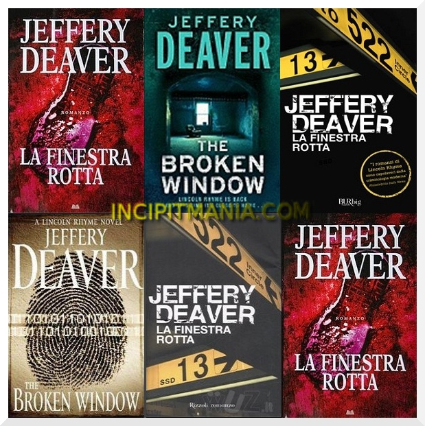 La finestra rotta di Jeffery Deaver