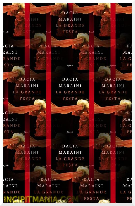 Copertina di La grande festa di Dacia Maraini