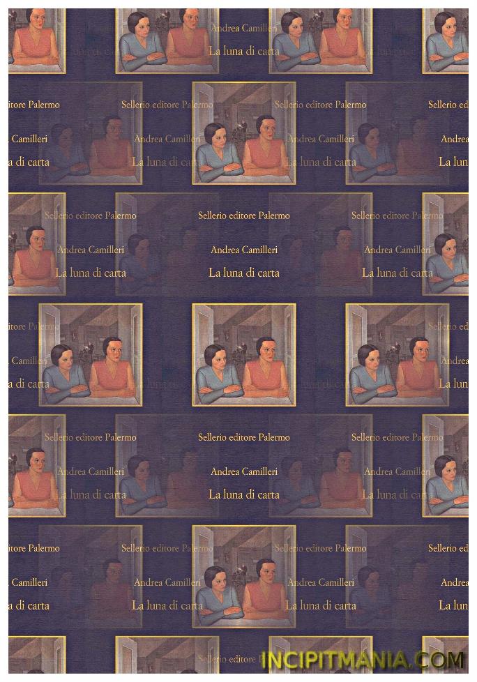 Copertina di La luna di carta di Andrea Camilleri