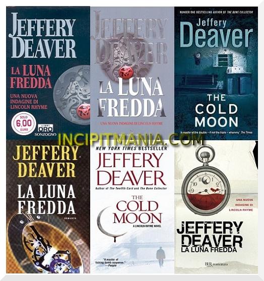 La luna fredda di Jeffery Deaver