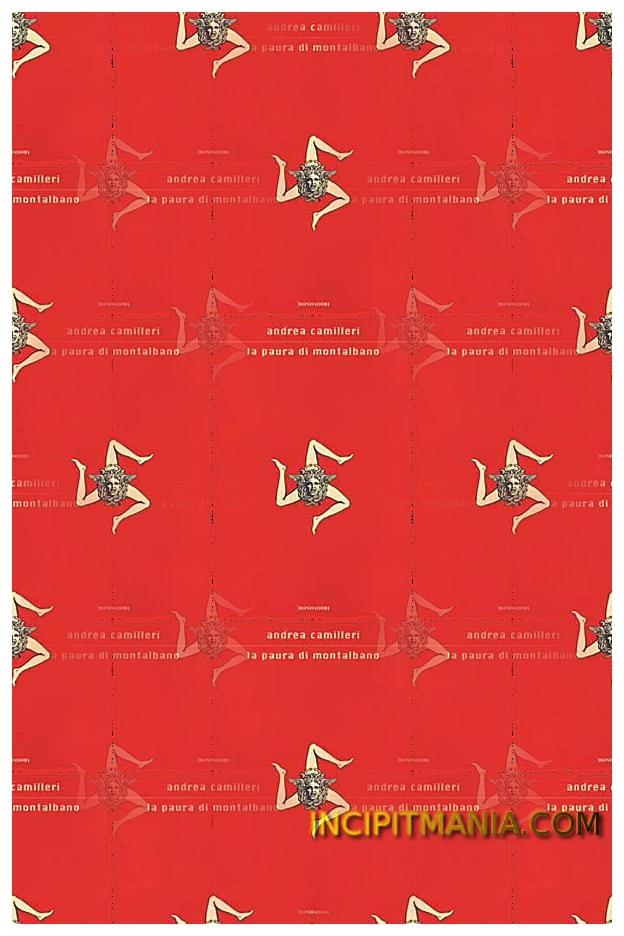 Copertina di La paura di Montalbano di Andrea Camilleri