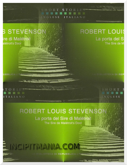 La porta di sire Malétroit di Robert L. Stevenson