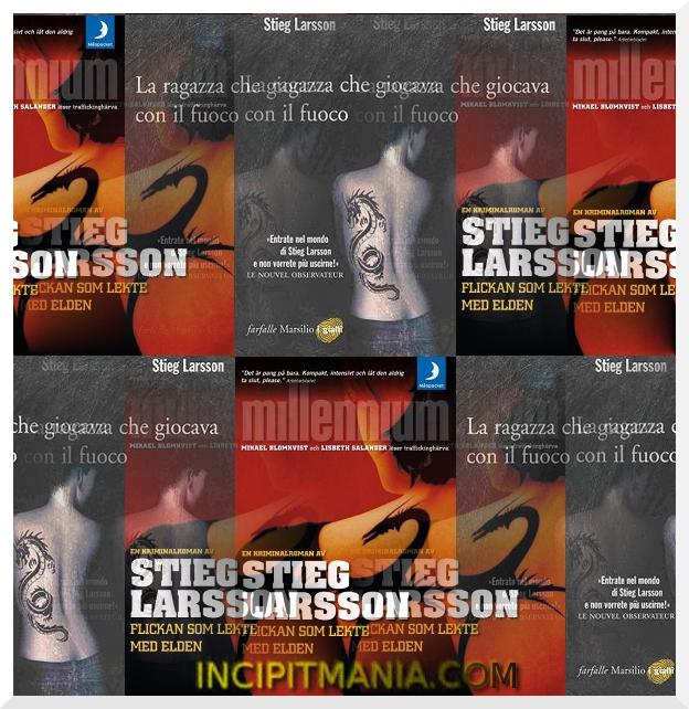 La ragazza che giocava con il fuoco di Stieg Larsson