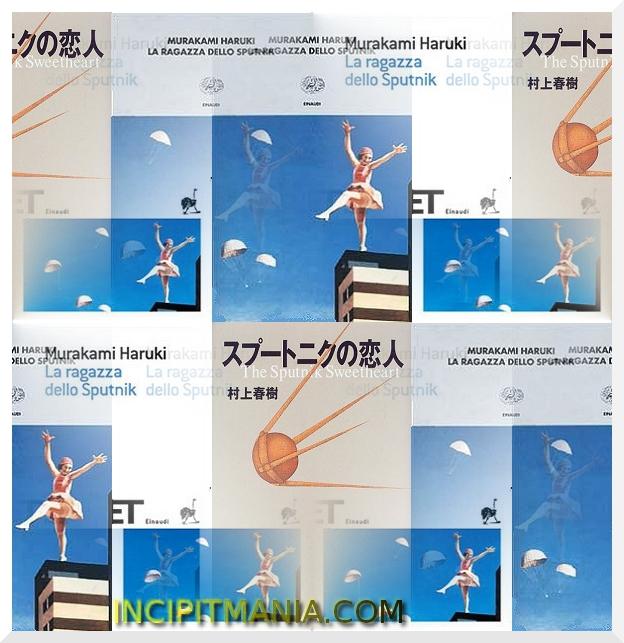 Copertine di La ragazza dello sputnik di Haruki Murakami