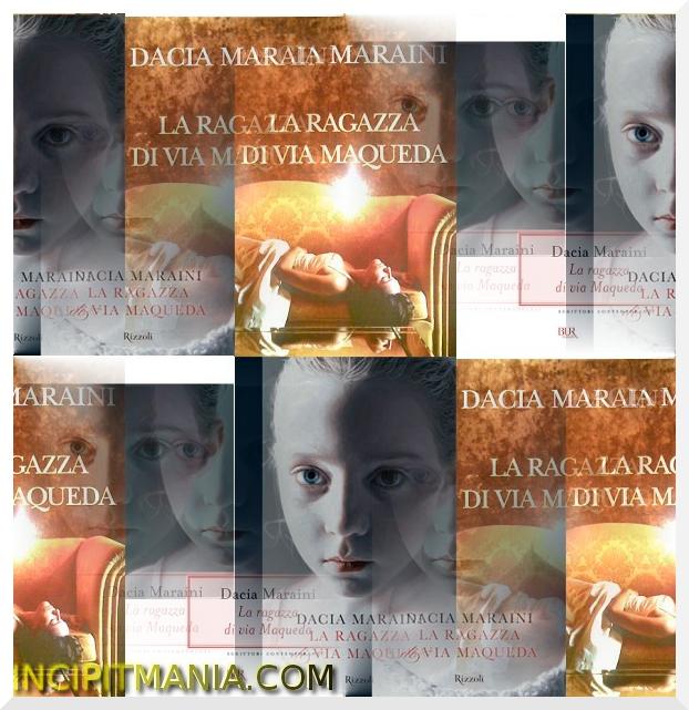 Copertine di La ragazza di via Maqueda di Dacia Maraini