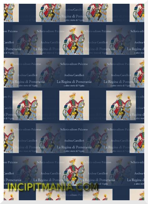Copertina di La Regina di Pomerania e altre storie di Vigàta di Andrea Camilleri