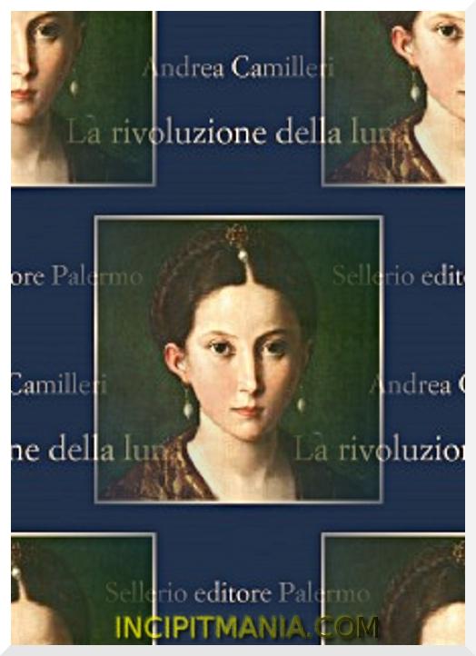 Copertina di La rivoluzione della luna di Andrea Camilleri