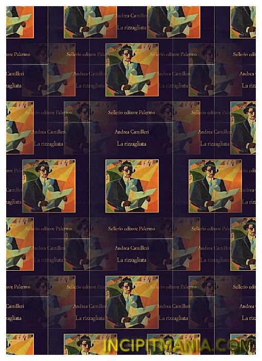 Copertina di La rizzagliata di Andrea Camilleri