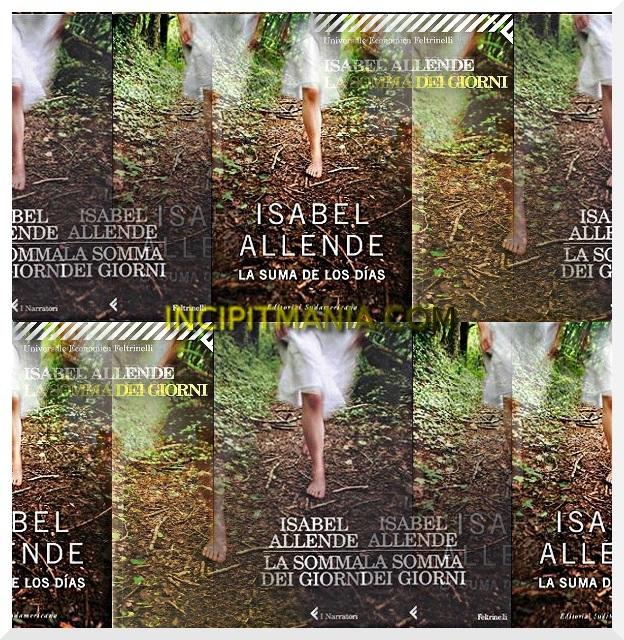 Copertine di La somma dei giorni di Isabel Allende