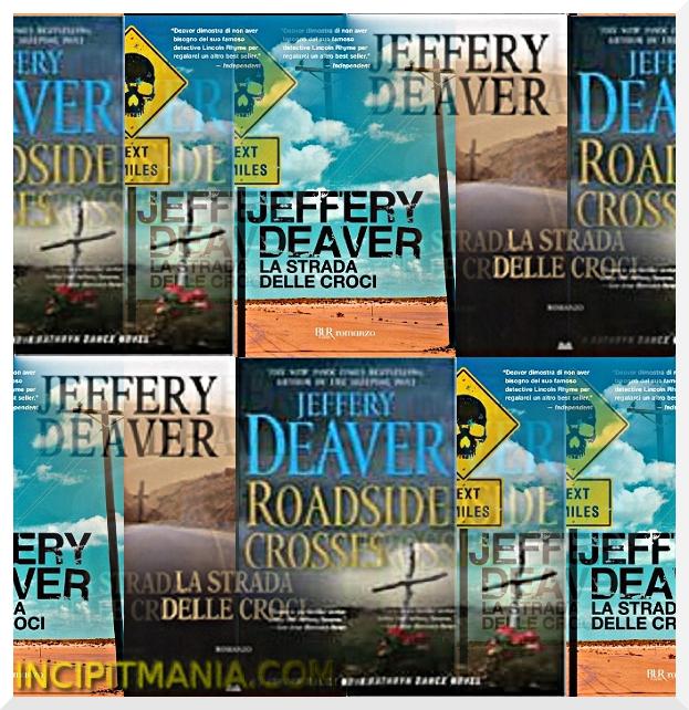 Copertine di La strada delle croci di Jeffery Deaver