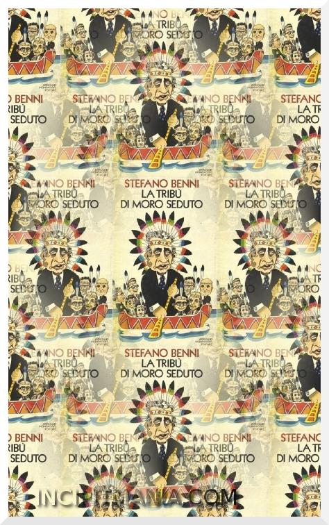 Copertine di La tribù di Moro Seduto di Stefano Benni