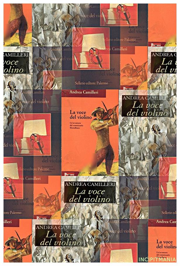 Copertine di La voce del violino di Andrea Camilleri