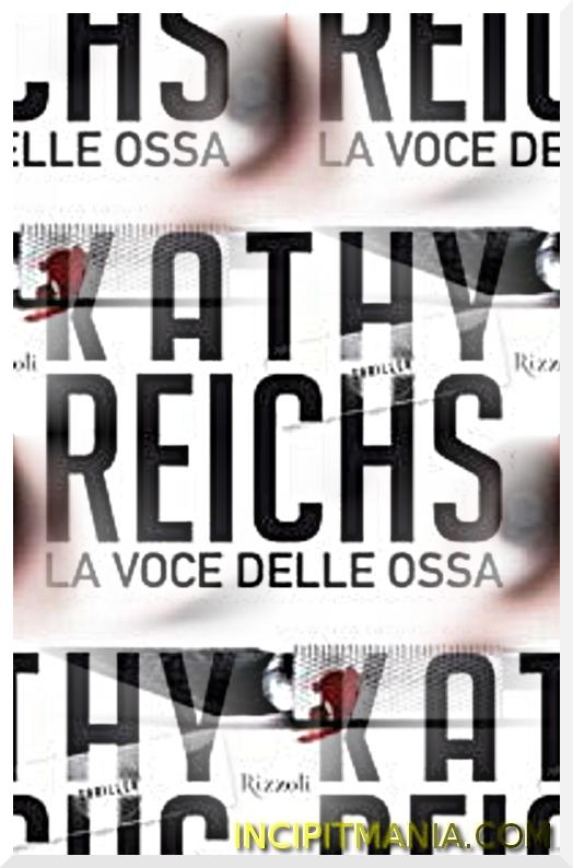 Copertina di La voce delle ossa di Kathy Reichs