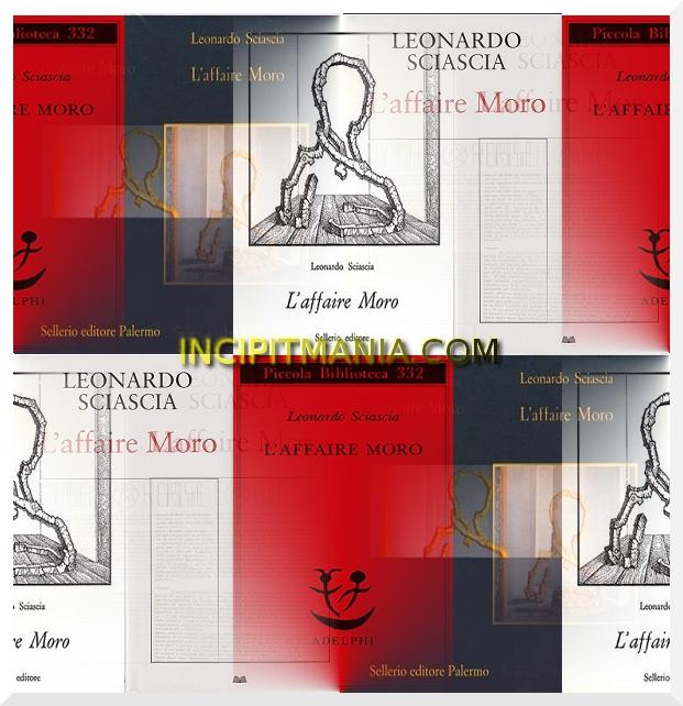 Copertine di L'affaire Moro di Leonardo Sciascia