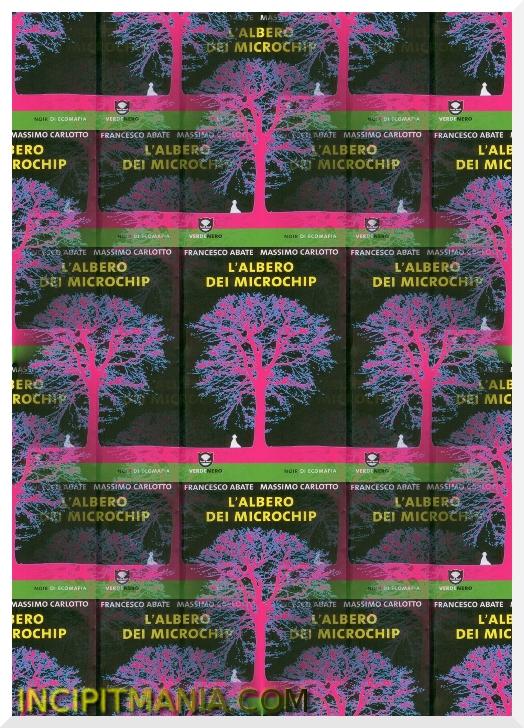 Copertina di L'albero dei microchip di Massimo Carlotto e Francesco Abate