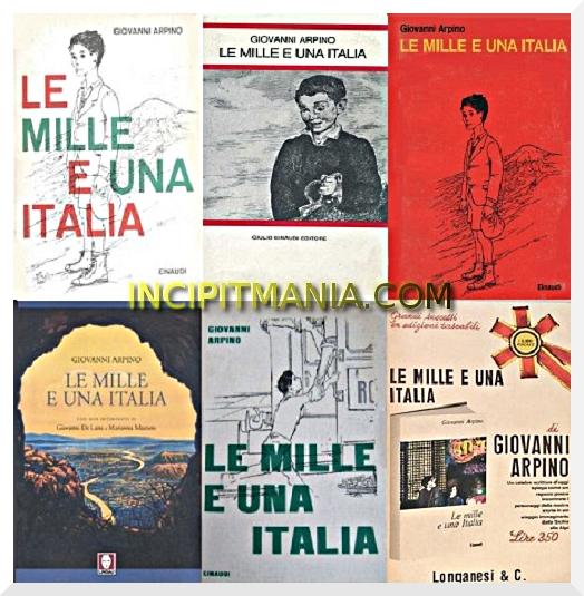 Copertine di Le mille e una Italia di Giovanni Arpino