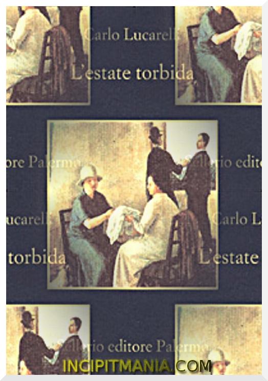 Copertina di L'estate torbida di Carlo Lucarelli
