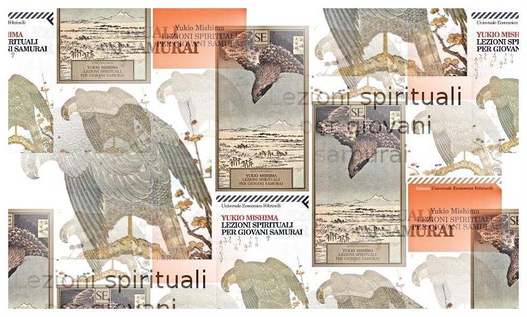 Copertine di Lezioni spirituali per giovani samurai di Yukio Mishima