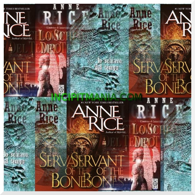 Copertine di Lo schiavo del tempo di Anne Rice