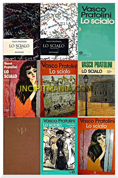 Copertine di Lo scialo di Vasco Pratolini